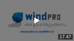 windPRO 3.3 intro video